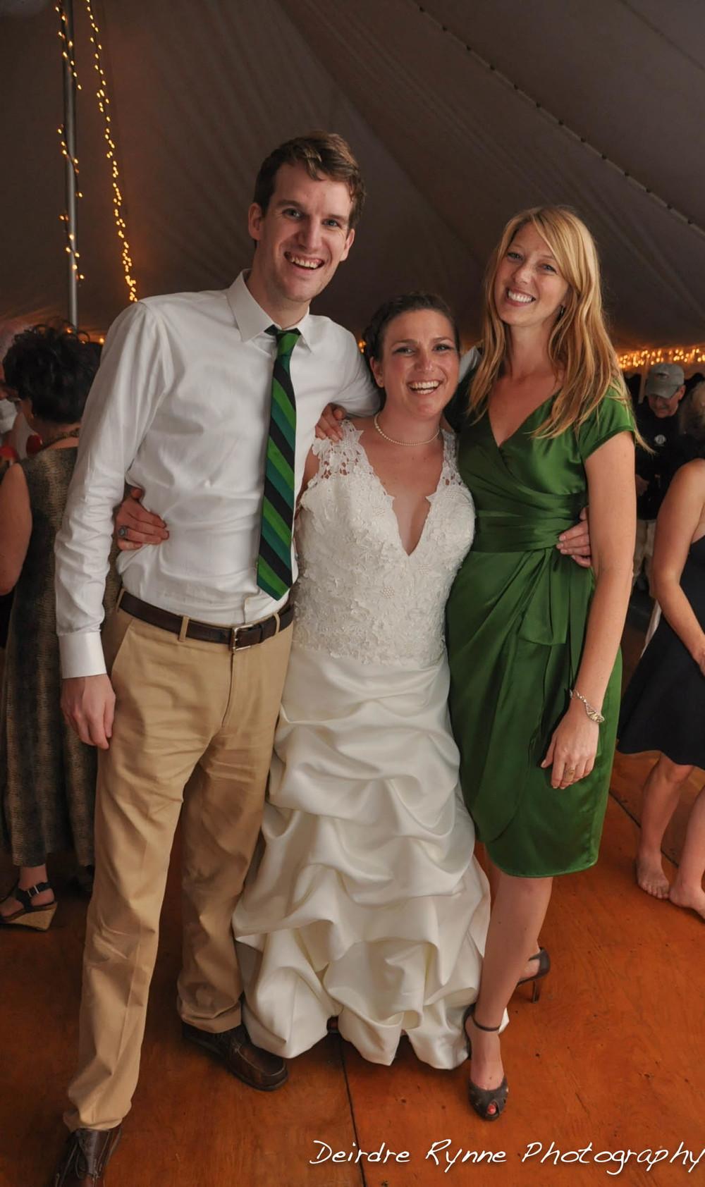 Tyler, Skyla & Sara-Farmington, Maine. August 2011