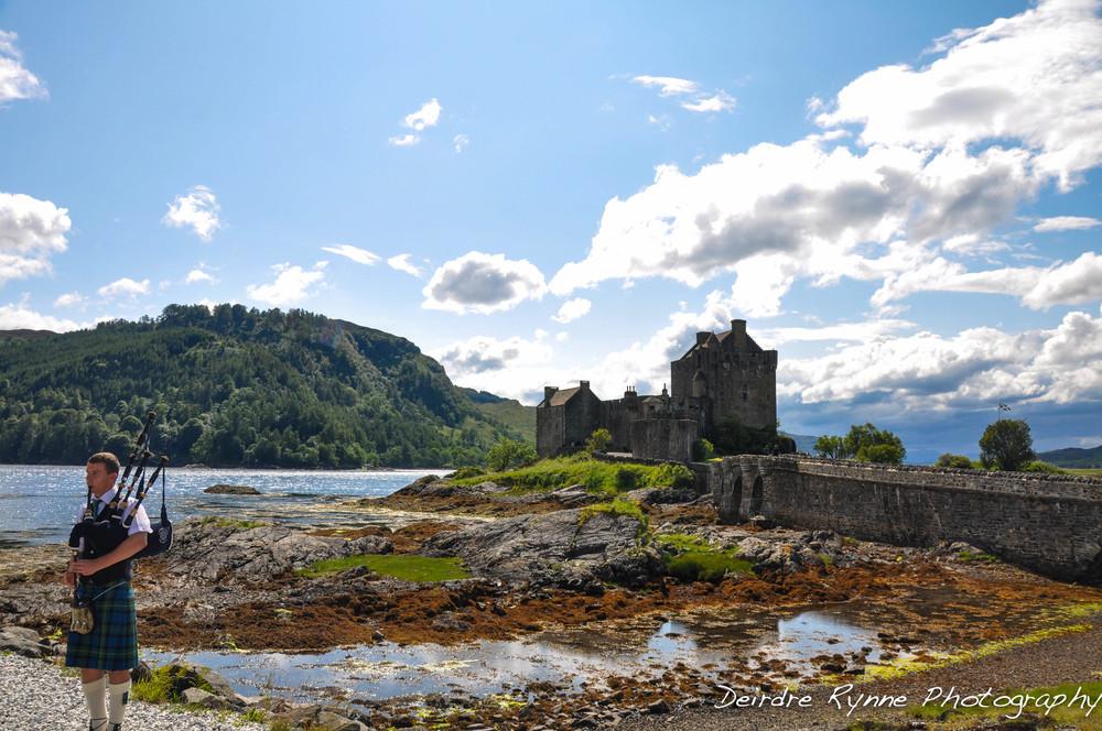 Eilean Donan Castle, Scotland. July 2011