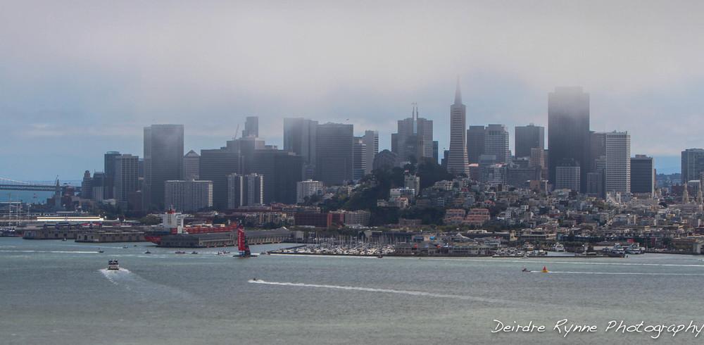Louis Vuitton Cup. San Francisco, California. August 2013