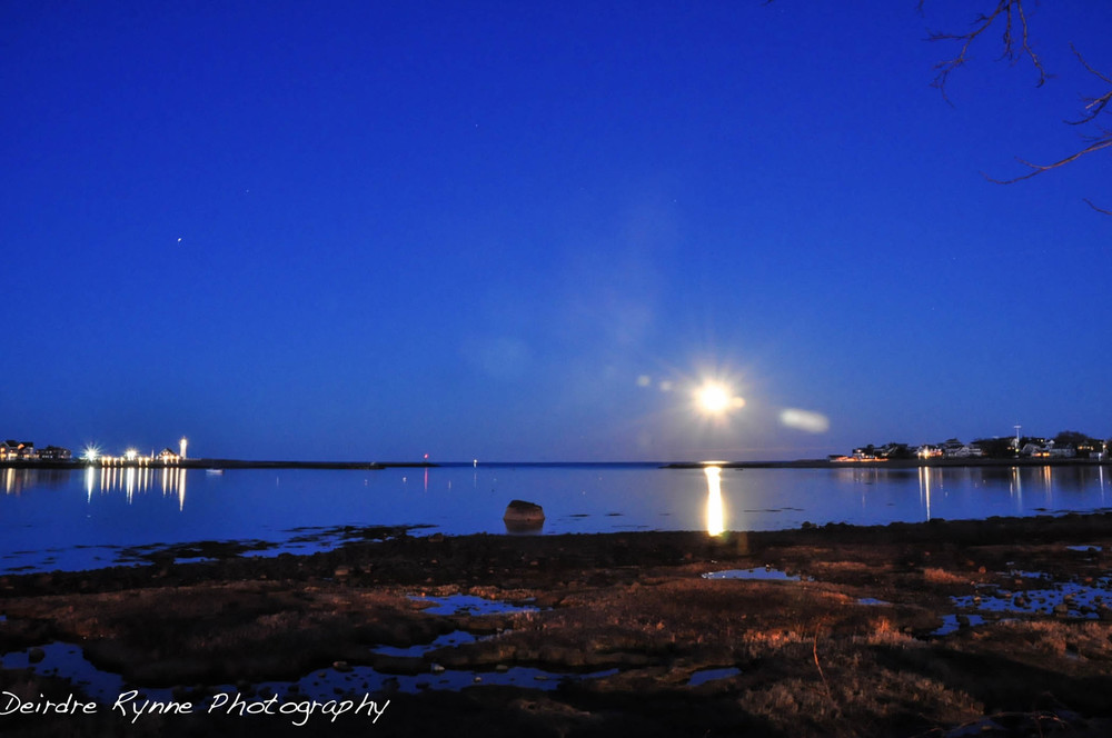 Super Moonrise, Scituate, Massachusetts April 2012