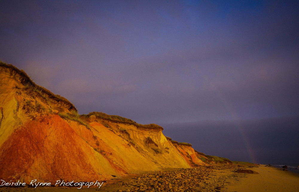 Aquinnah Rainbow, Massachusetts. August 2013.