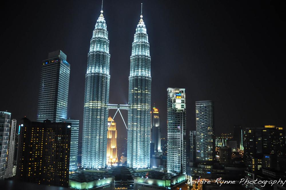 Petronas Towers in Kuala Lumpur, Malaysia. September 2012