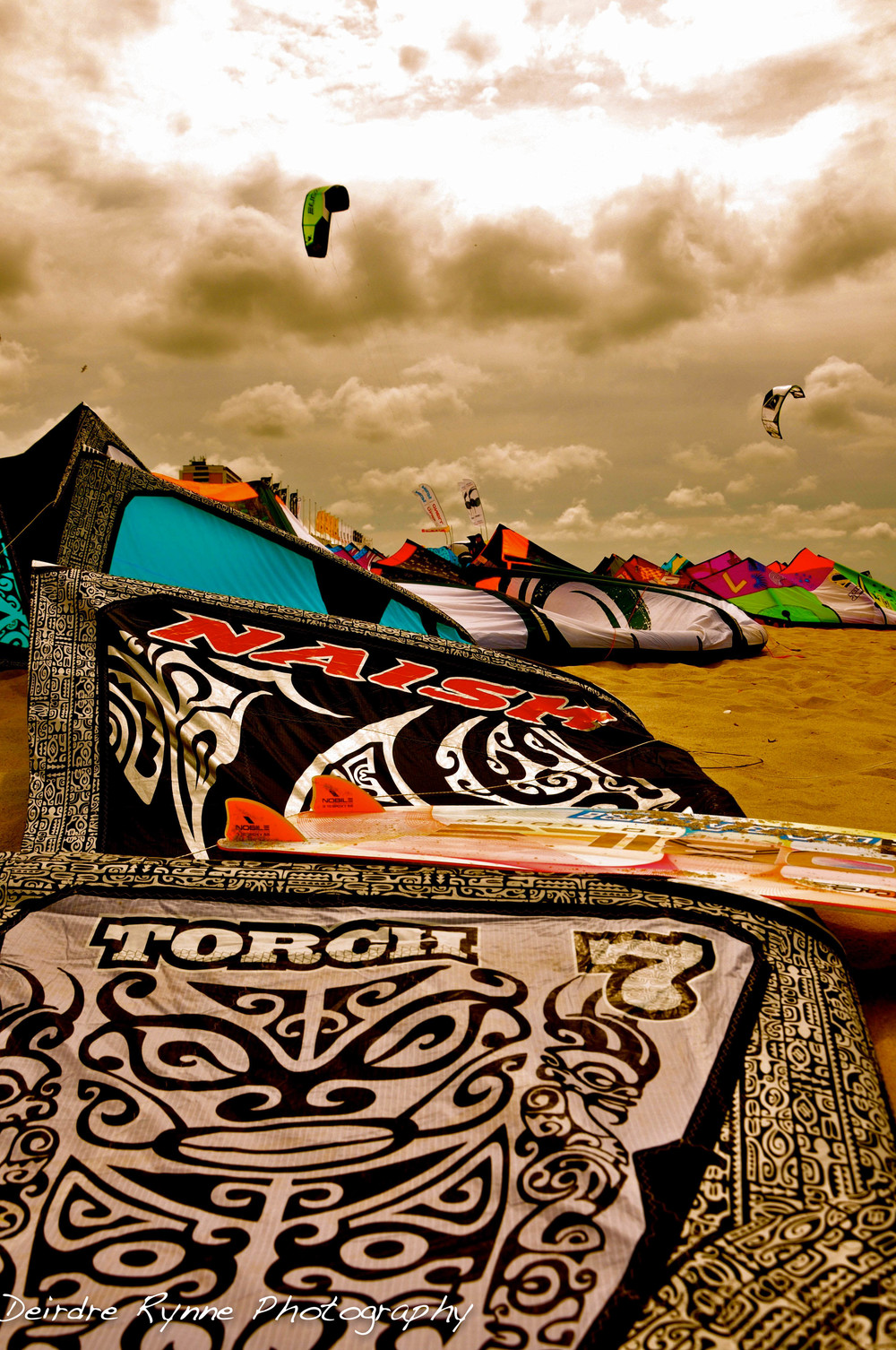 Kitesurfing Worlds. Sylt, Germany. June 2011