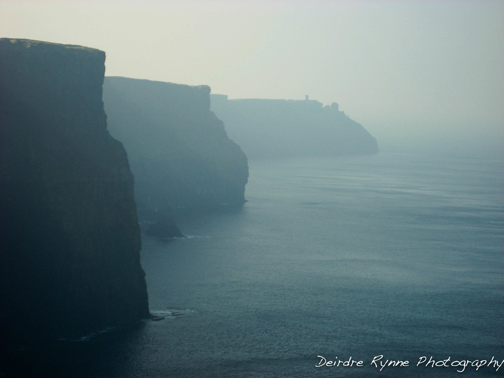 Cliffs of Moher, Co. Clare, Ireland. March 2009
