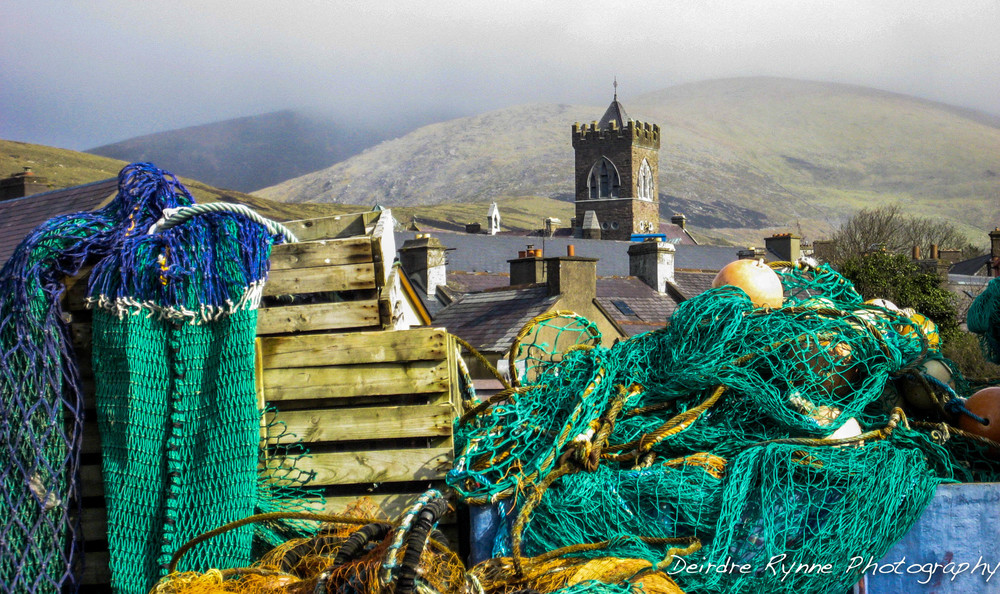 Dingle Fishing Nets, Co.Kerry, Ireland. March 2009