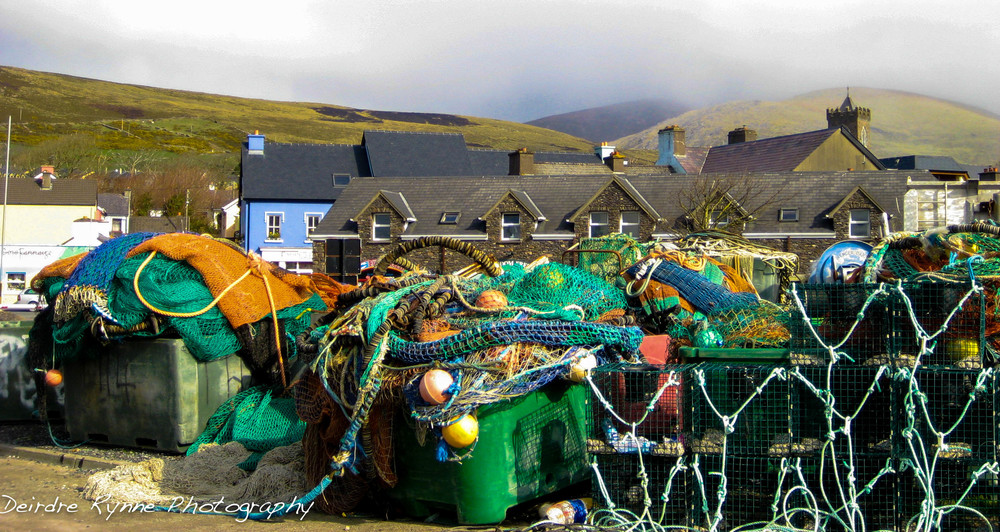 Dingle Lobster Traps, Co.Kerry, Ireland. March 2009