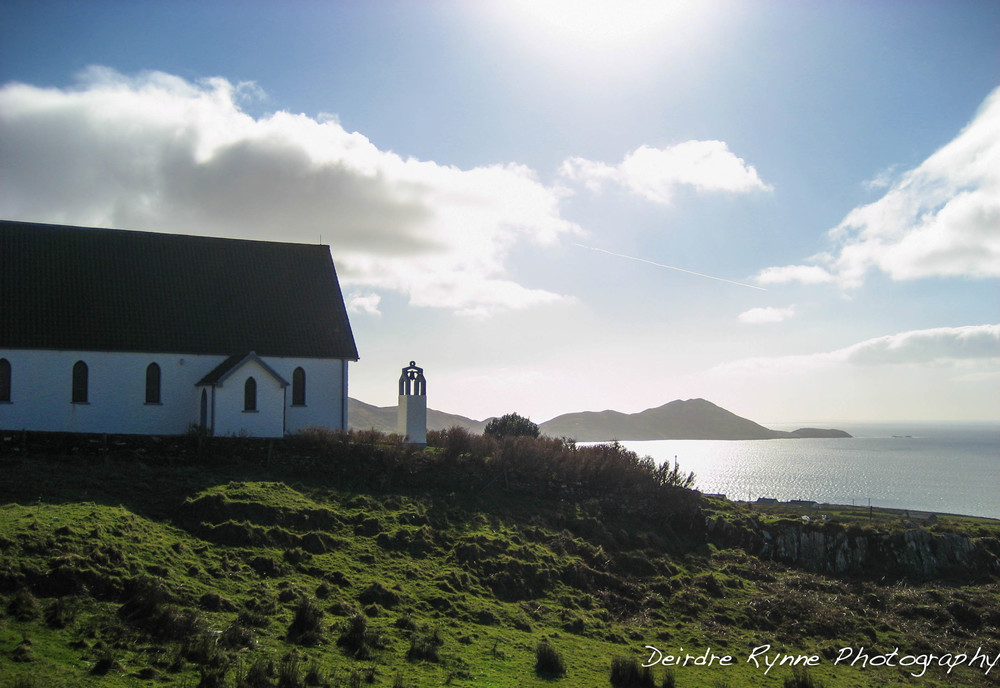 Coastal Kerry Church, Ireland. March 2009