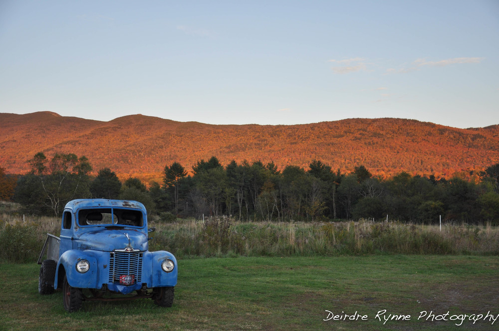 Waterbury Truck, Vermont. October 2010