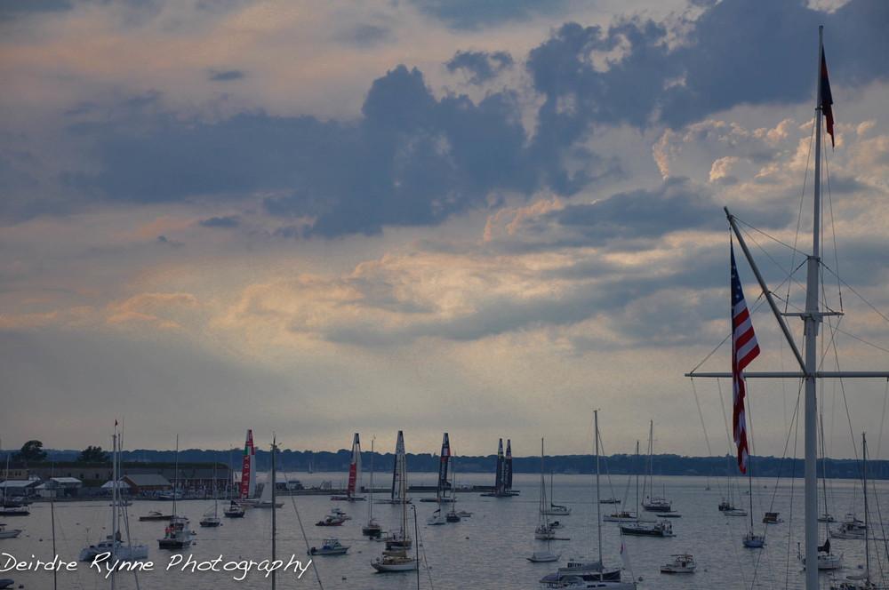 America's Cup Trials- New York Yacht Club, Newport, Rhode Island. June 2012