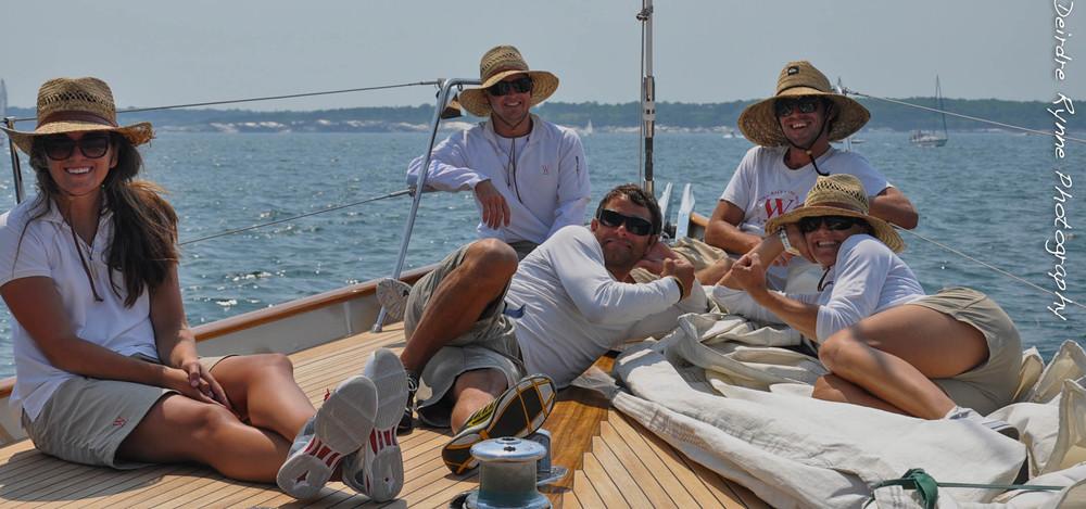 """""""Wild Horses"""" Crew. Newport, Rhode Island. June 2012"""