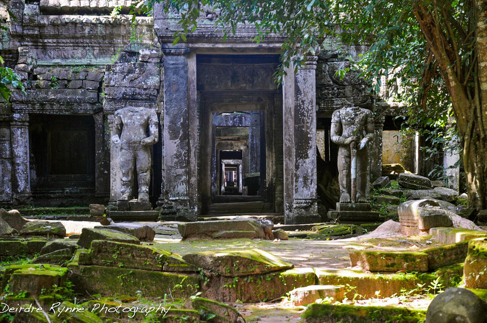 Ta Preah Exterior, Cambodia. August 2012