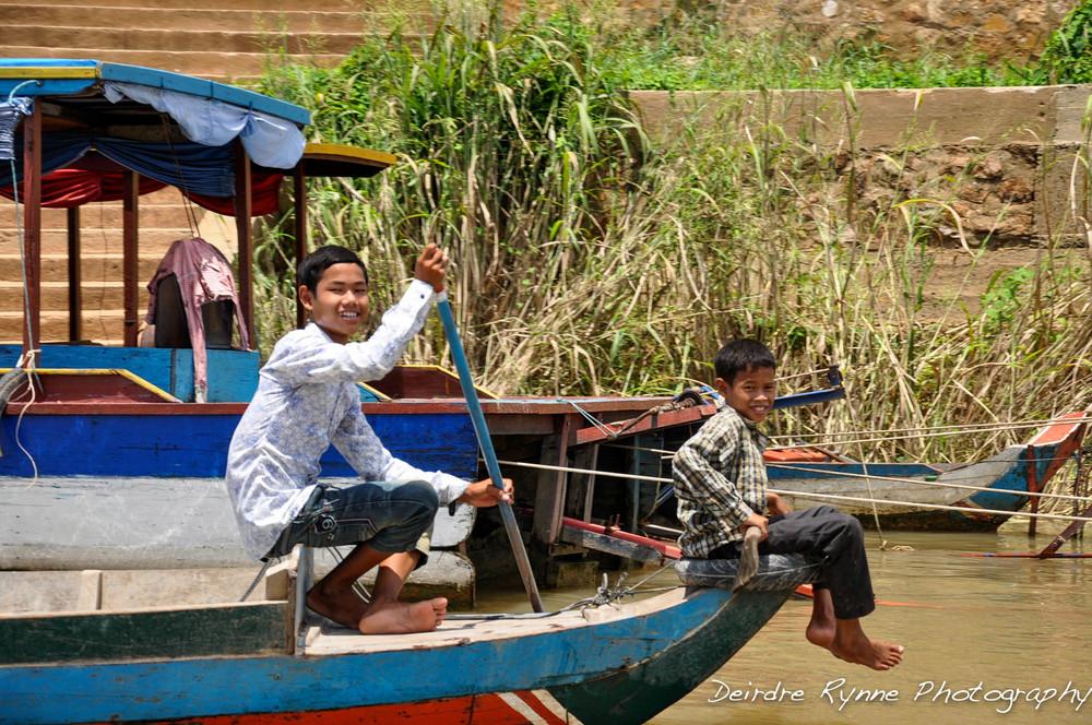 River Boys- Tonle Sap, Cambodia. August 2012
