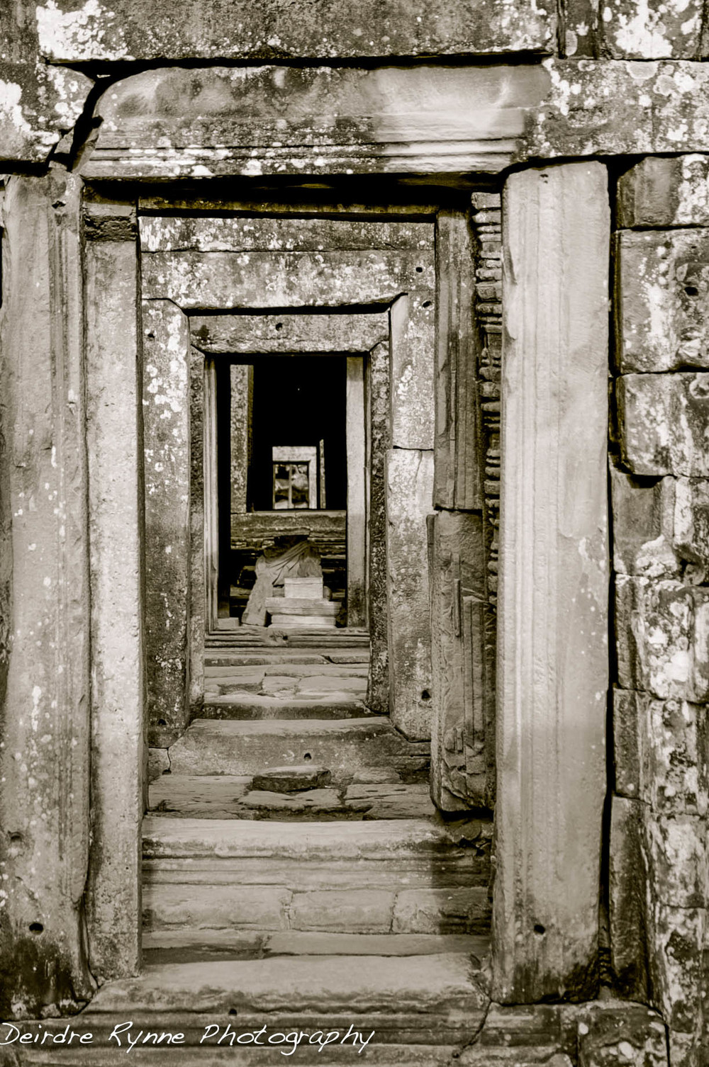 Angkor Doors, Cambodia. August 2012