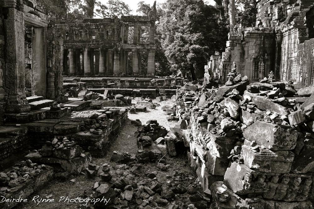 Ta Preah Ruins, Angkor, Cambodia. August 2012