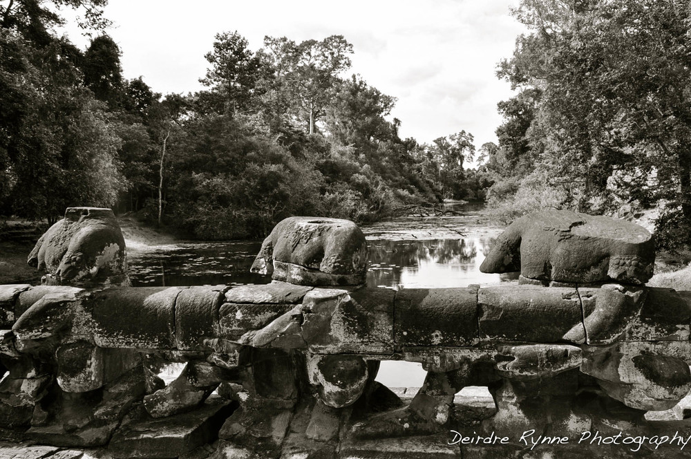 Stolen Treasures, Angkor Thom, Cambodia. August 2012