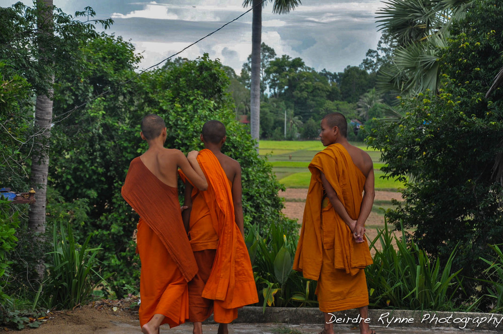 Cambodian Monks, August 2012