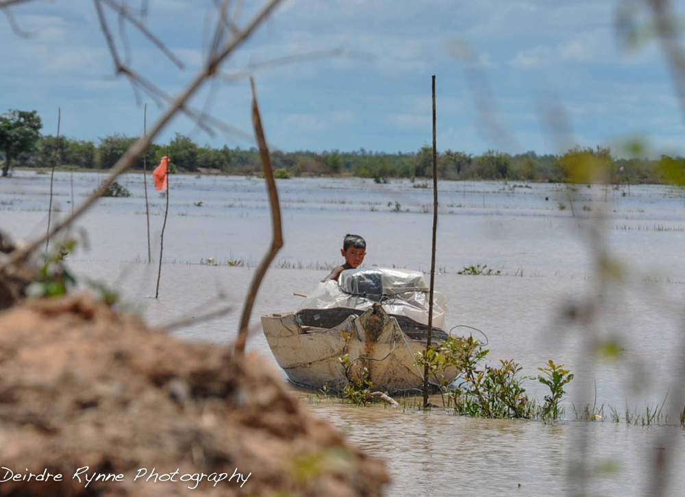 Tonle Sap Fishing-Cambodia. August, 2012