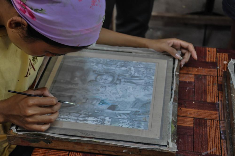 Angkor Artistan Studio, Cambodia. August 2012
