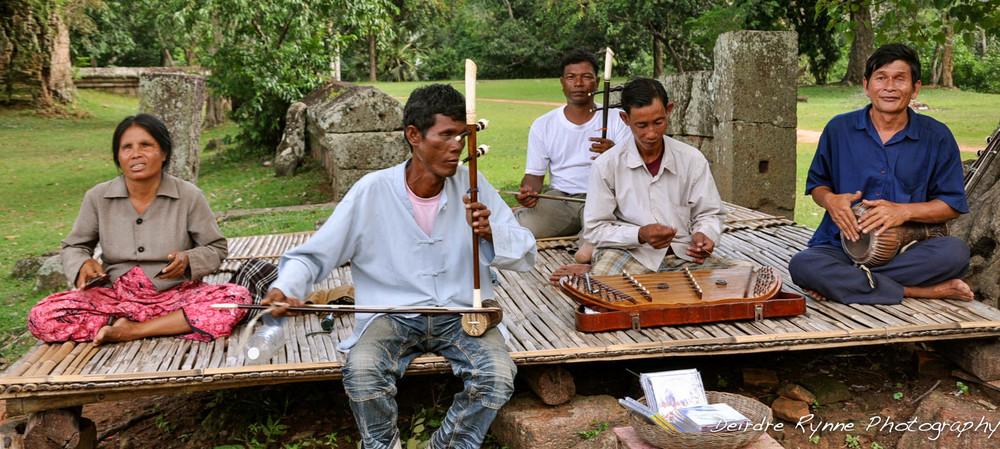 Angkor Musicians, Cambodia. August 2012.