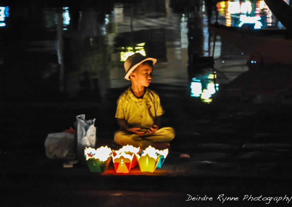 Lantern Boy- Hội An, Vietnam. August 2012