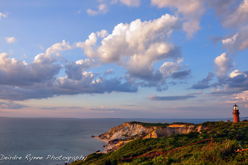 Gay Head Solstice Sunset, Aquinnah, Massachusetts. June 2010