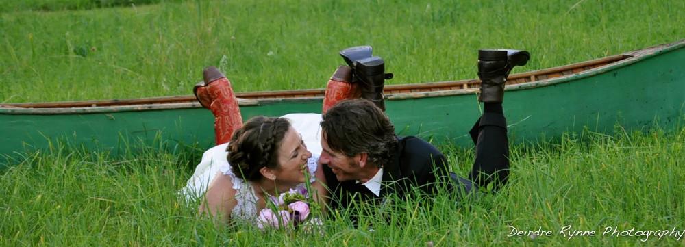 Newlyweds- Farmington, Maine. June 2012.