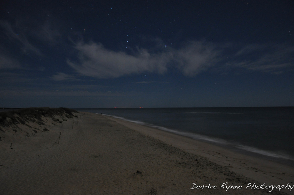 Orion over South Beach