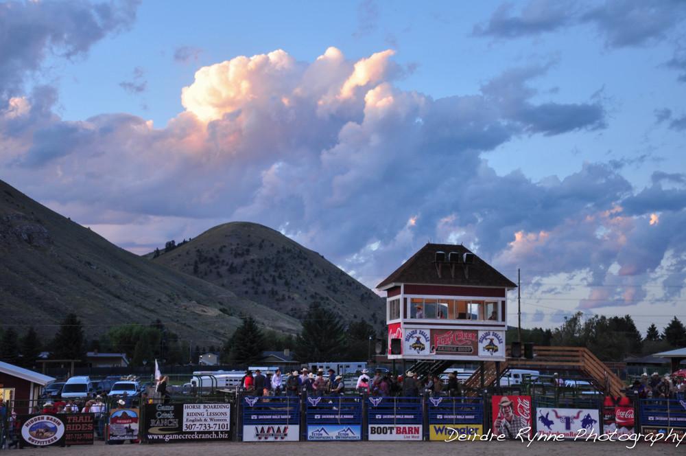 Jackson Rodeo, Wyoming. September 2010.