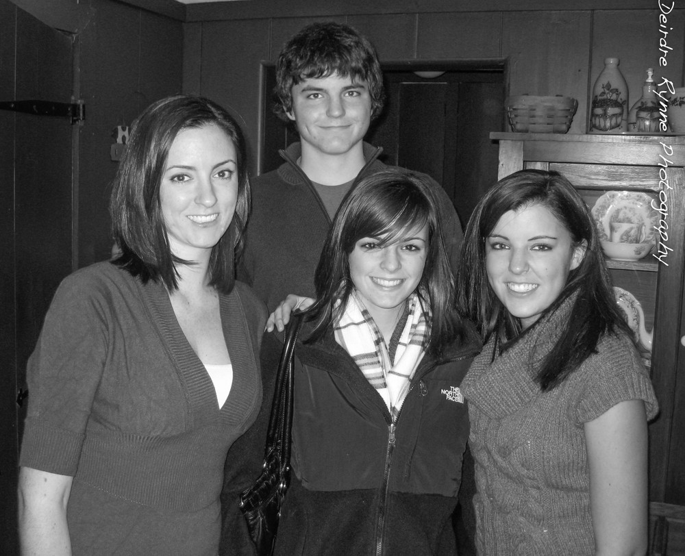Christina, Stephen, Elizabeth & Katie