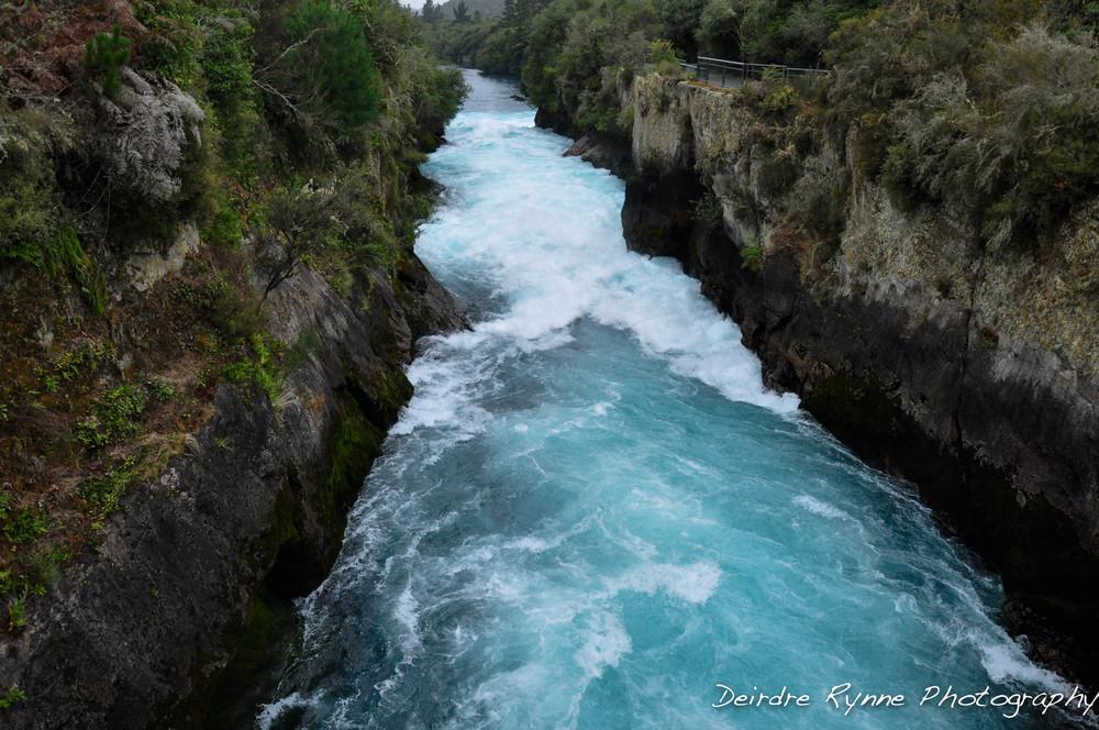 Huka Falls on Waikato River
