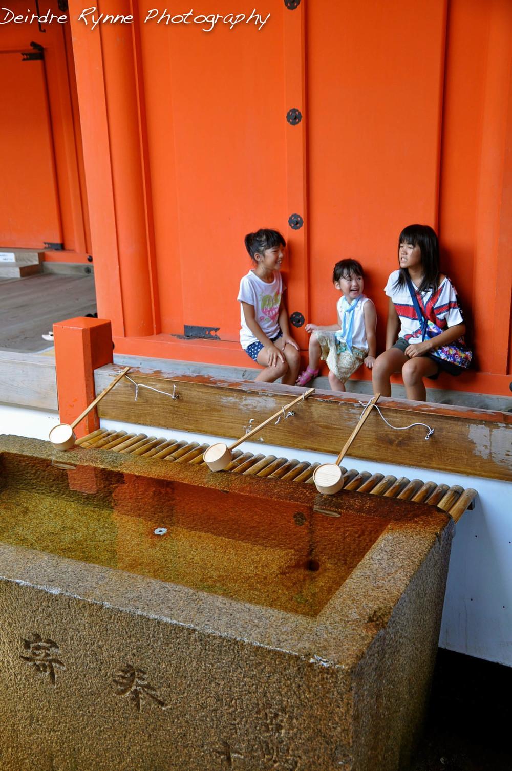 Itsukushima Shrine, Mt. Misen, Hiroshima Prefecture, Japan. July 2012