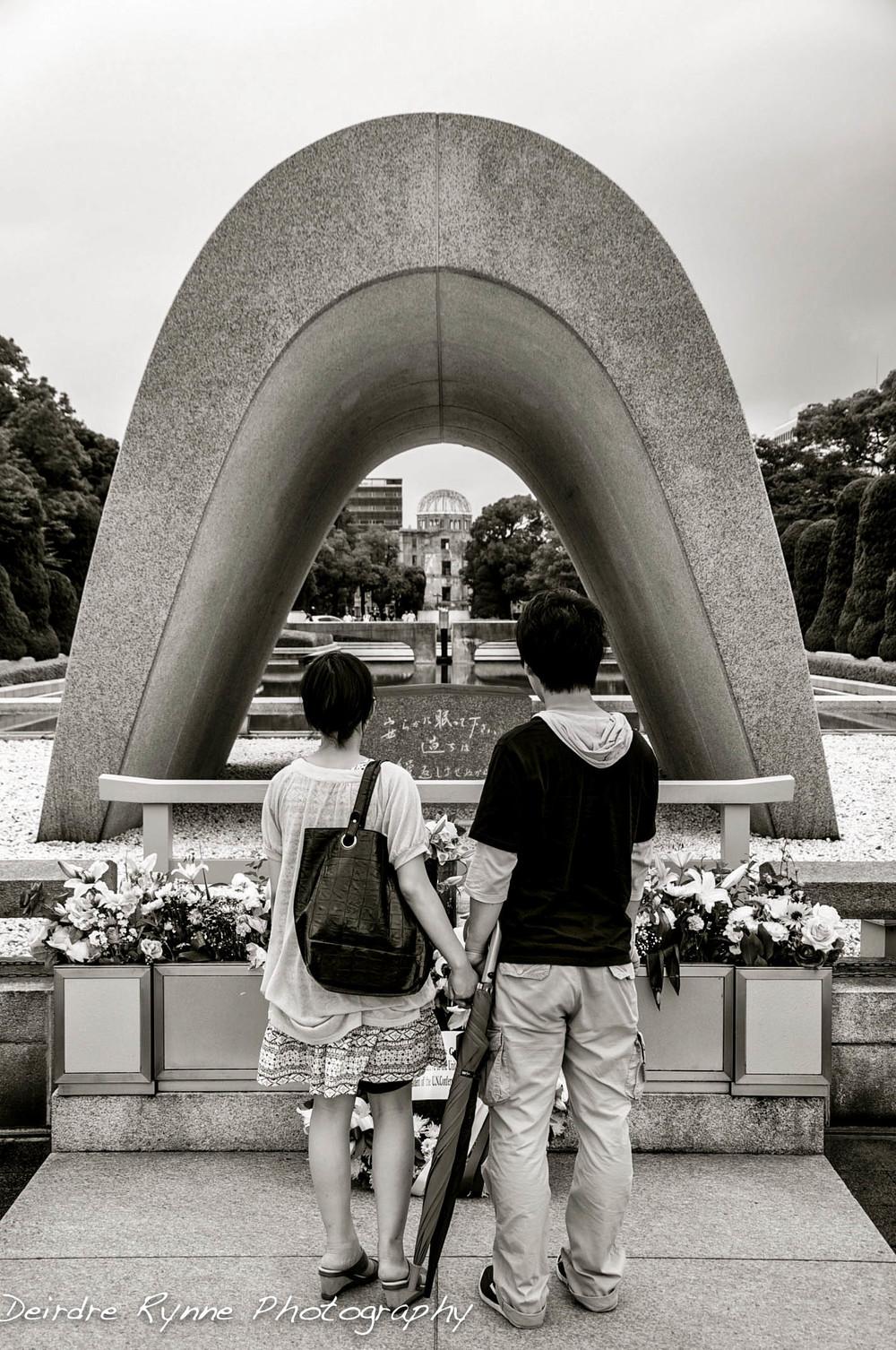 Hiroshima Flame- Hiroshima, Japan. July 2012.