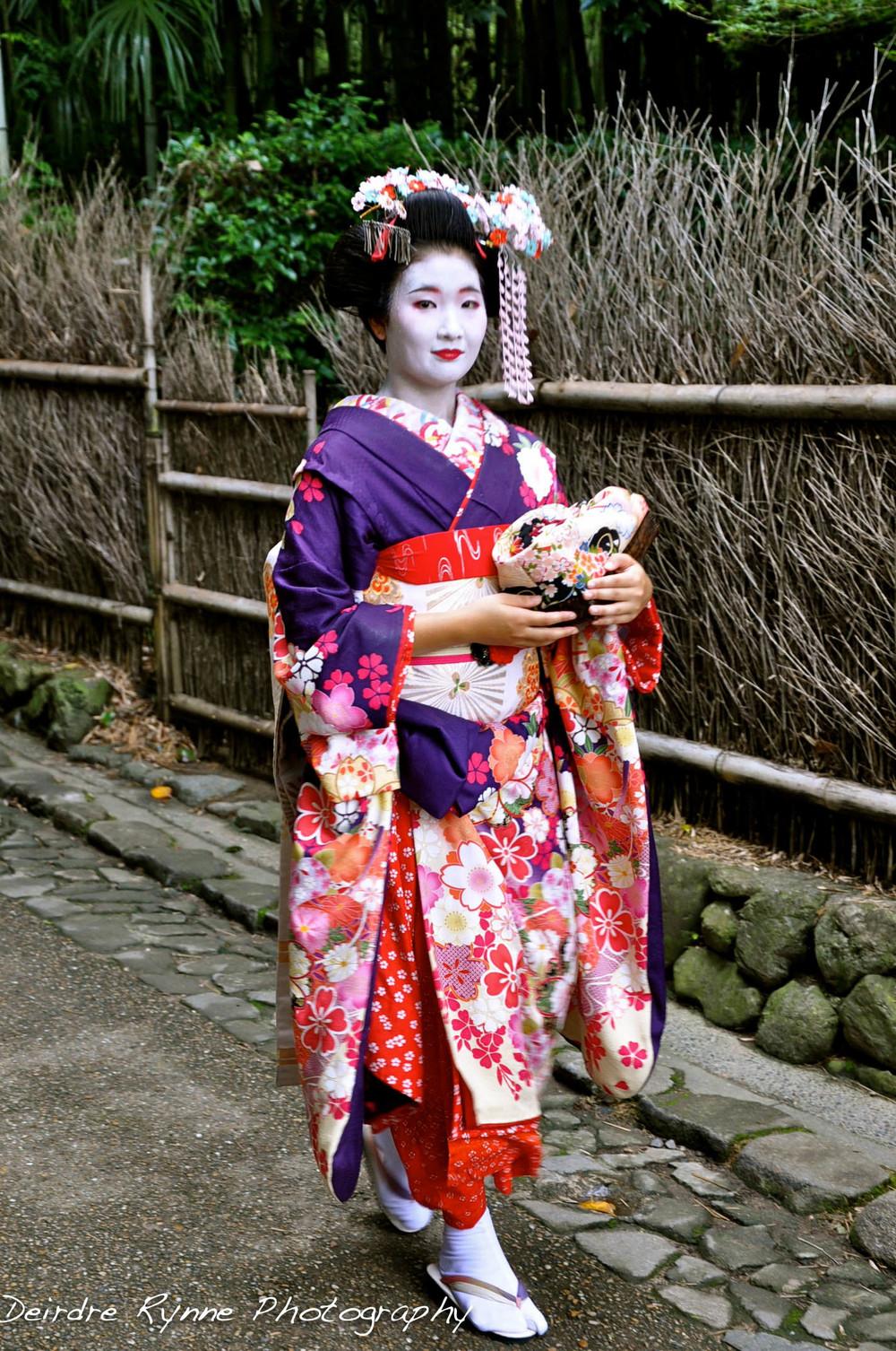 Geisha. Kyoto, Japan. July 2012.