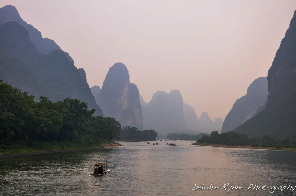 Li River, Guilin, China. July 2012.