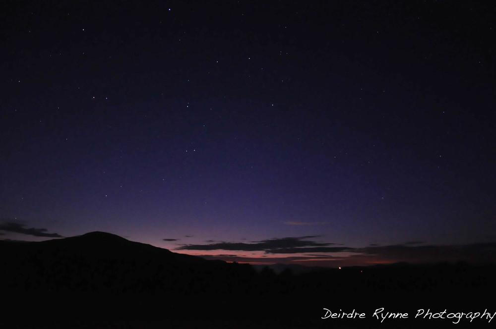 Mt. Elmore Dusk