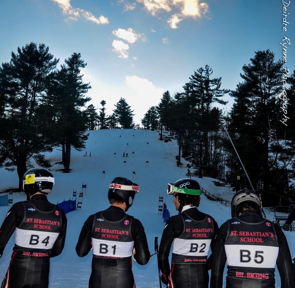 Ski Team-Nashoba Valley, Westford, Massachusetts. February 2011.