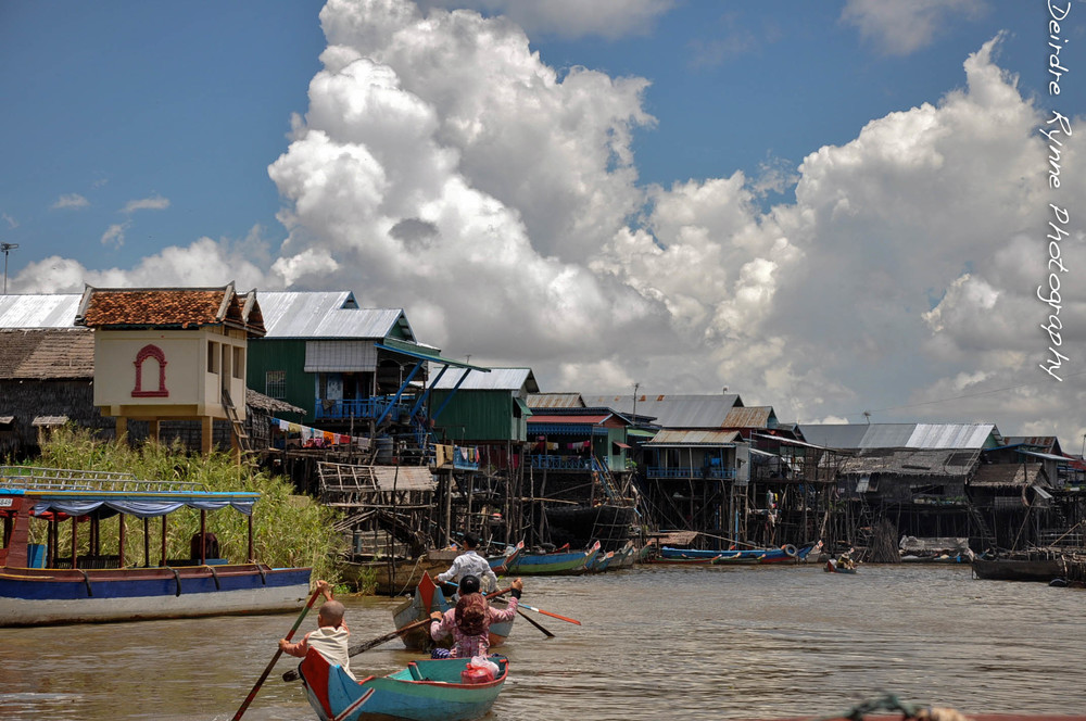 Tonle Sap, Cambodia. August 2012.