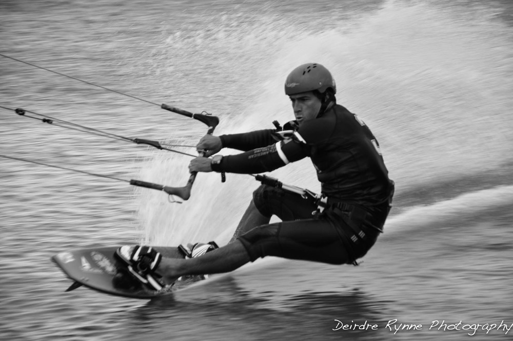 Brock. North American Speed Sailing Invitational. State Beach, Martha's Vineyard. October 2012.