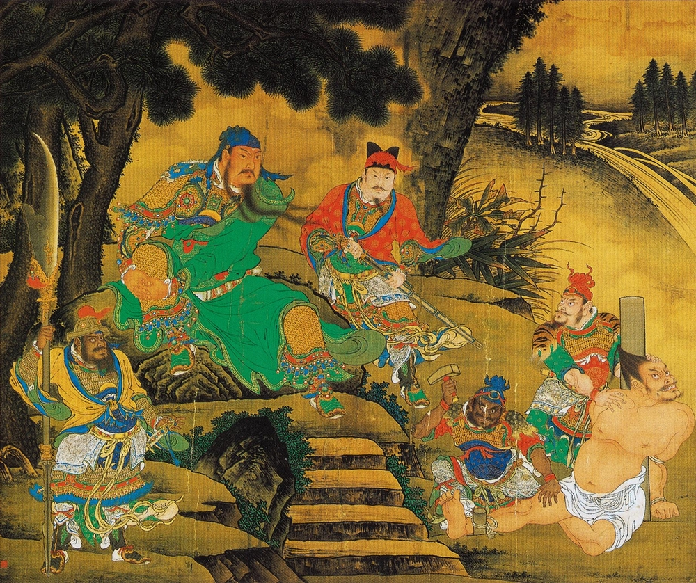 "Shang Xi, ""Guan Yu Captures General Pang De"""