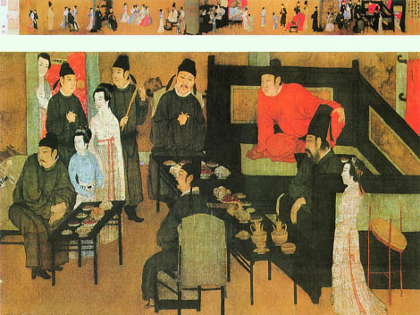 "Gu Hongzhong, ""The Night Revels of Han Xizai"""