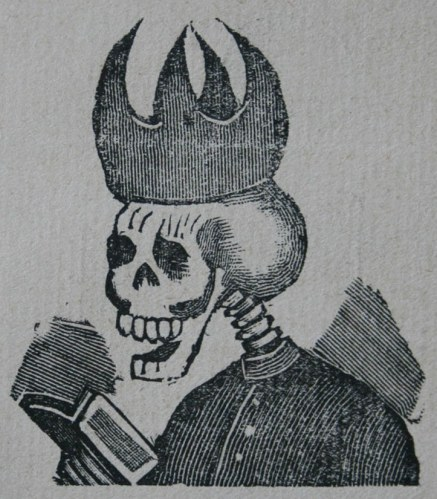 Clerical Calavera