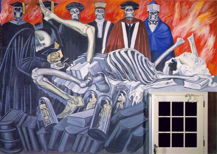 """Gods of the Modern World"" by José Clemente Orozco"