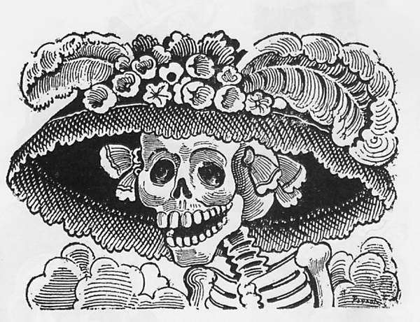 """La Catrina"" José Guadalupe Posada"