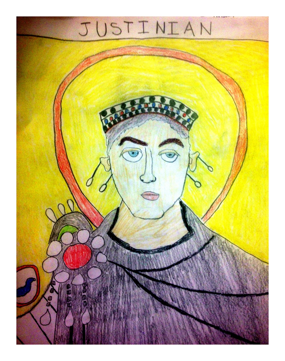 Justinian by 7th Grade Student January 2014
