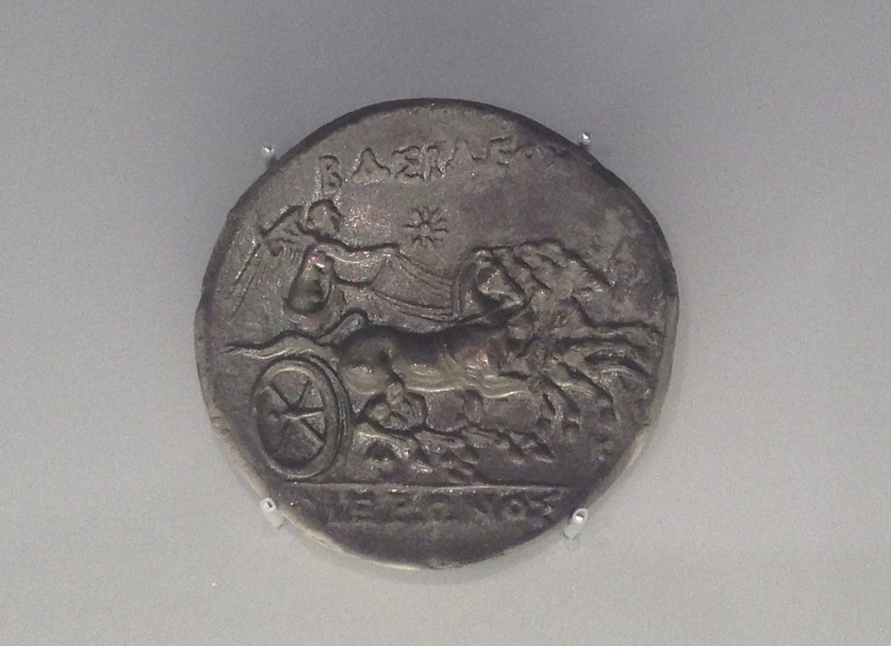 32 litrai with chariot (quadriga)