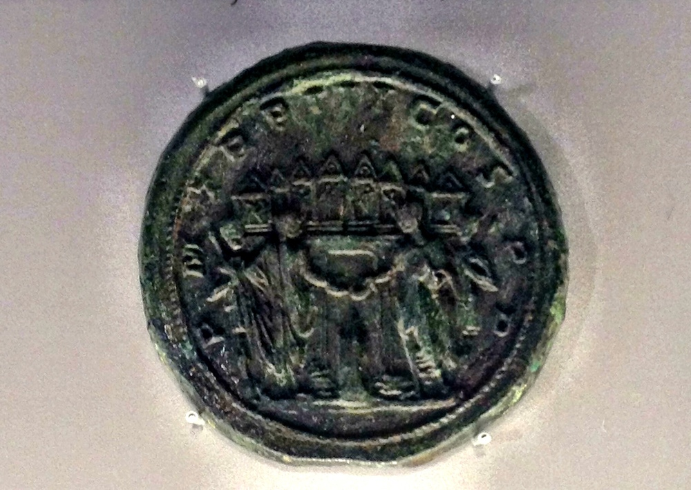 Medallion of Philip I & Philip II offering sacrifice