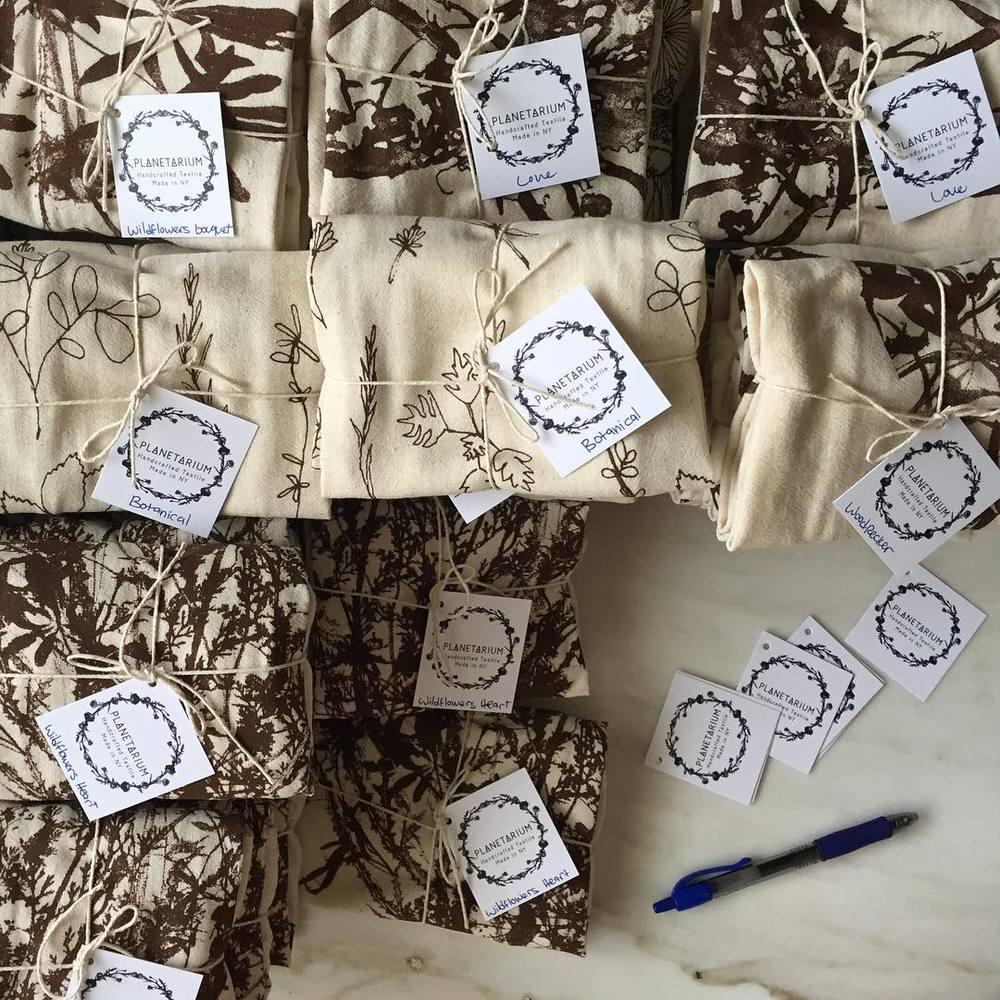 Yet more piles in the making 👐🏻 #screenprinted #teatowels #botanical inspired original patterns #planetariumdesign #planetariumdesignstudio #textiledesign