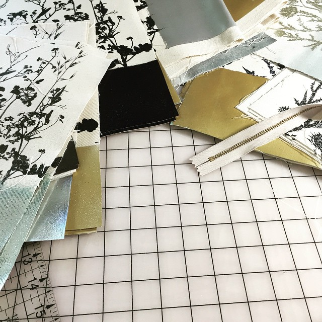 Work table #planetariumdesignstudio #textiledesignstudio #screenprintedbags to be…