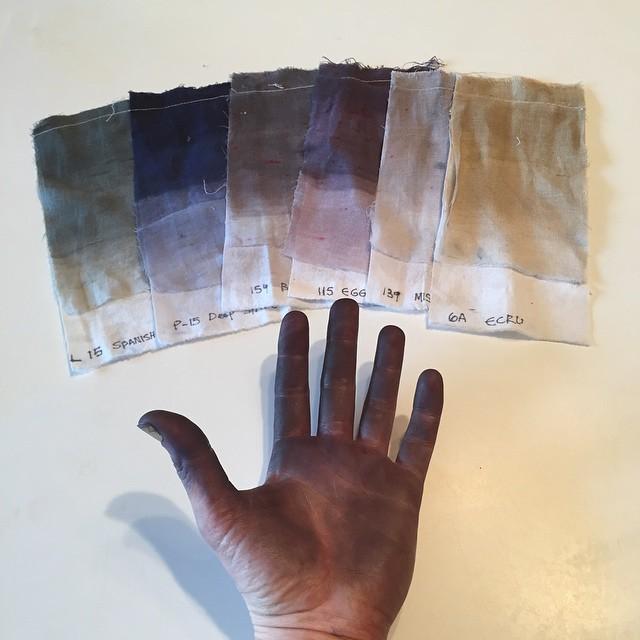 #color palette #textiledesignstudio #dyingfabrics #planetariumdesignstudio
