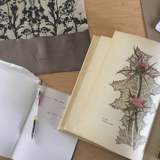 Always making lists #galgalatz playing in the background 🎶 #שבתשלום #textiledesignstudio #planetariumdesignstudio #screenprintingstudio
